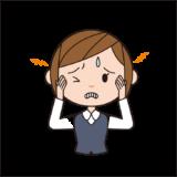 頭の表面の一定間隔にズキズキする痛みは?