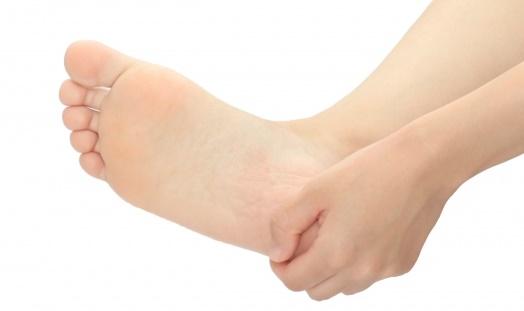 踵の足底腱膜炎